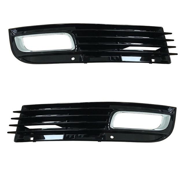 Auto Vorne Links Rechts Auto Nebel Licht Lampe Chrom Grill für AUDI A8 Quattro D3 2008 2009 2010 4E0807681 4E0807682