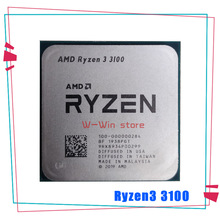 CPU Processor R3 3100 Amd Ryzen AM4 100-000000184-Socket Quad-Core Ghz 65W L3--16m Eight-Thread