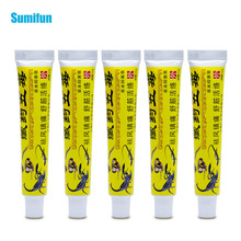 Sumifun 5Pcs Chinese Pain Relieve Cream Rheumatoid Arthritis Joint Back Herbal Analgesic Balm Pain Relief Ointment D1762 цена и фото