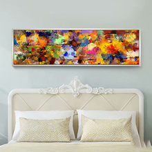 все цены на Yuke Art Poster and Prints Painting Abstract Oil Paintings on Canvas Colorful Canvas Art Modern Art for Home Wall Decor онлайн