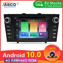11.11 אנדרואיד 10.0 רכב DVD המולטימדיה סטריאו ForToyota T27 Avensis dsp אוטומטי מחשב רדיו GPS ניווט וידאו אודיו 4G RAM