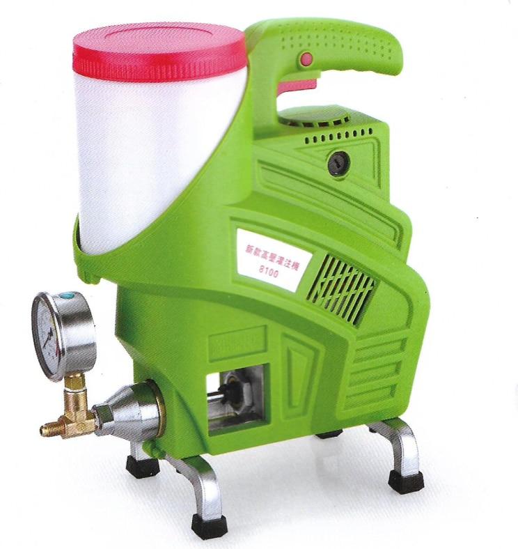 Máquina de lechada a prueba de agua, bomba de inyección de espuma epoxi/poliuretano, reparación de grietas de hormigón, resistente al agua