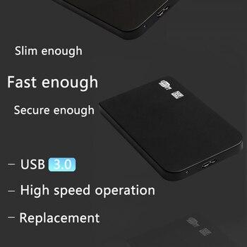 YD4 Aluminum Alloy 2.5 inch Hard Drive Case SATA to USB 3.0 Adapter External HDD SSD Enclosure Tool Free Driver HDD Enclosure