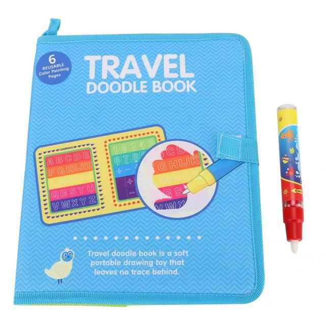 Travel Doodle Book