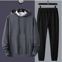2020 New sportswear men suit hooded sweatshirt suit hoodie sportswear suit sweatpants hoodie men set