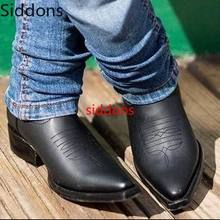 Winter Ankle Boots Men Shoes with Fur Warm Vintage Classic Male Casual Motorcycl