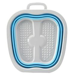Footbath Bucket Folding Bucket Container Foot Tub Spa Foldable Massage Basin Portable Washtub Health Care Bath