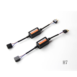 Image 1 - 2PCS H1 H11 H4 H7 LED 9005 9006 Canbus Car Headlight Decoder Wiring Adapter DRL LED Lamp Error Canceler Fog Light Canbus