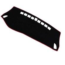 Коврик для приборной панели Tesla модель 3 ковровое покрытие солнцезащитный изоляционный инструмент панель защита Нескользящая Blac