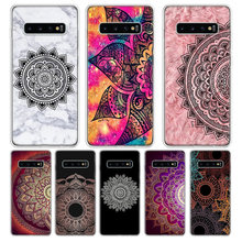 Mandala Sun Flower Datura Retro Flora Remarkable Phone Case For Samsung Galaxy S9 S8 J4 J6 Plus + J8 2018 S7 S6 Edge Note 9 8 P(China)