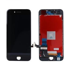 Image 1 - آيفون 7 7 Plus شاشة LCD محول الأرقام الشبكية ثلاثية الأبعاد شاشة تعمل باللمس زجاج الإطار الجمعية