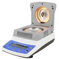Analizador de humedad halógena 0,01-120g 0.005-120g 0.002-120g 0.001-120g medidor con herramienta higrómetro de pantalla LCD