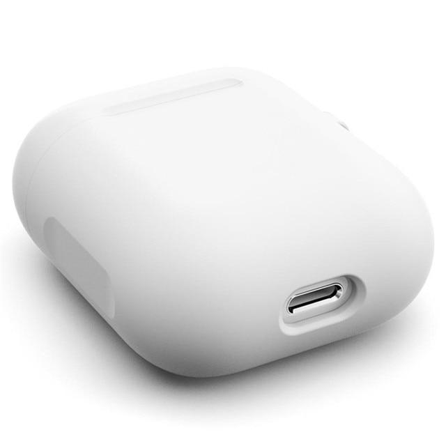Фото для apple airpods 1 2 bluetooth беспроводной чехол для наушников цена