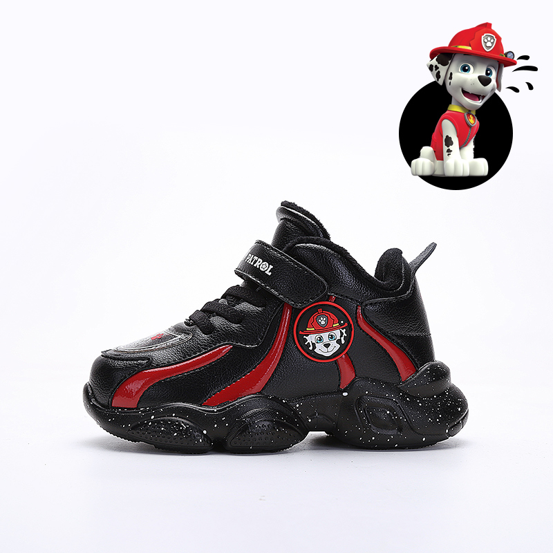 PAW PATROL Children Casual Shoes For Kids Baby Sport Shoes Winter Warm Plush Shoes Non-Slip Breathable Girls Boys Soft Bottom