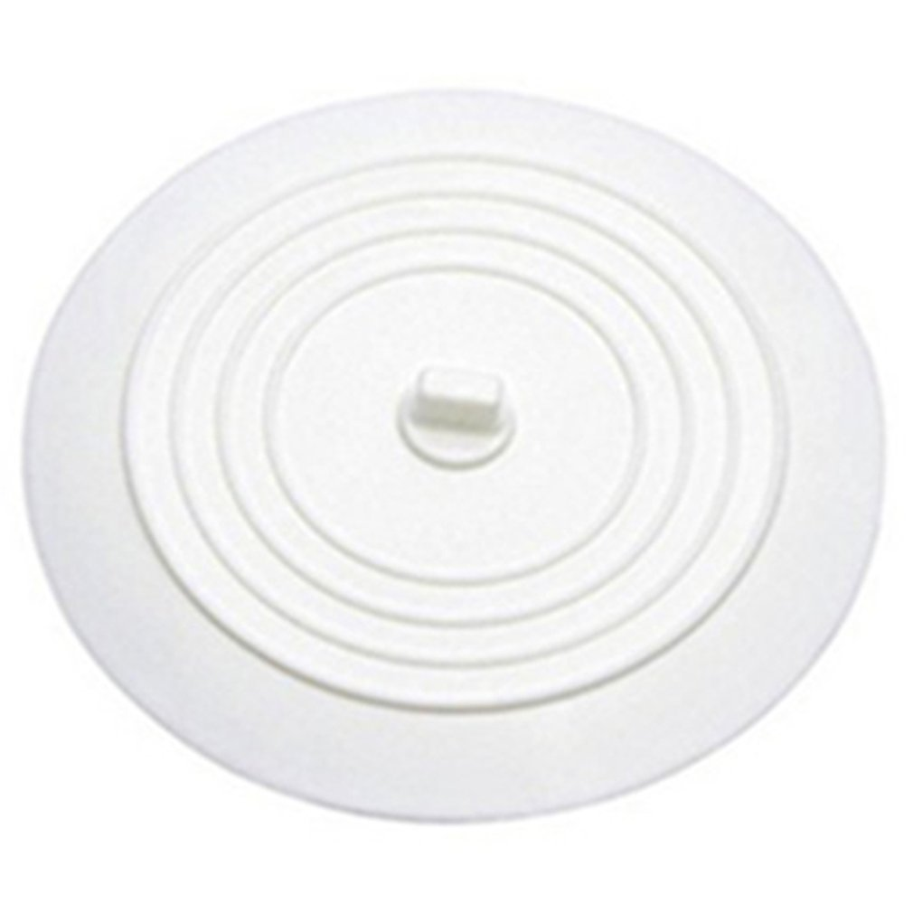 Leakage-proof Water Stopper Basin Sink Hair Catcher Round Silicone Flat Cover Kitchen Drain Plug Universal