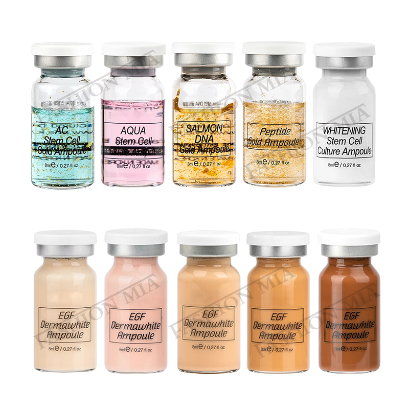 Stayve 8ml Ampoule Bb Cream Glow Meso Starter Shades Brightening Foundation Acne Healing Foundation MTS Microneedles Treatment