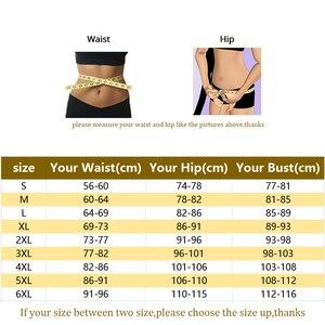 Image 5 - Mulher corpo inteiro shaper shapewear powernet emagrecimento briefs butt lift barriga controle cintura trainer bodysuit lingerie mais tamanho