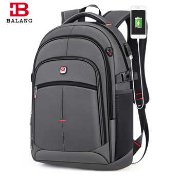 BALANG New Anti-thief USB Backpack 15.6inch Laptop Backpack for Women Men School Backpacks Bag for Boy Girls Male Travel Mochila - DISCOUNT ITEM  34 OFF Luggage & Bags