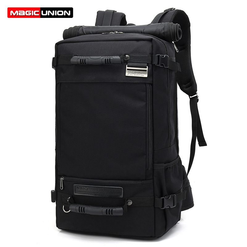 MAGIC UNION Large Travel Backpack Oxford Backpack 3 In 1 Duffel Bag Hiking Camping Sling Backpacks Daypack Bags For Men