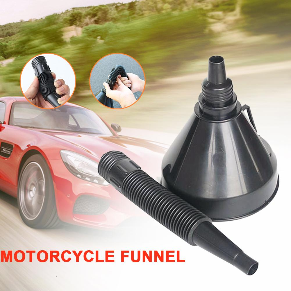 Car Motorcycle Thickening Fuel Funnel Fuel Bucket Self-driving Emergency Tool Large Multi-function Funnel