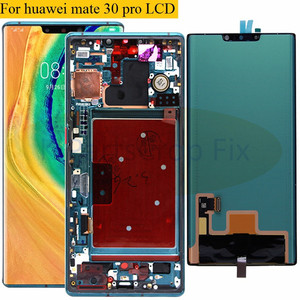 Image 1 - Pantalla LCD Original Super AMOLED para Huawei Mate 30 Pro, montaje de digitalizador con pantalla táctil, reparación para mate 30 pro LIO L09 L29 LCD