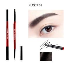 цена New Long Lasting Tattoo Eyebrow EyeBrow Pencil Cosmetics Makeup Tint Waterproof Black Brown Eye brow Makeup Set Beauty maquiagem