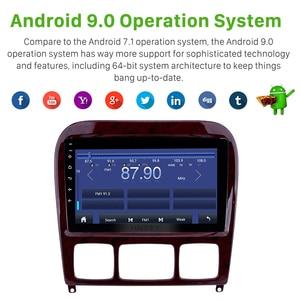 Image 5 - Harfey 9 Android 9.0 Car Radio GPS Navi for Mercedes Benz S Class W220 S280 S320 S350 S400 S430 S500 1998 2005 Audio with AUX