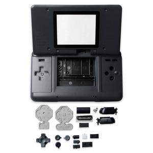 Image 3 - الإسكان شل الحال مع أزرار ل نينتندو DS لعبة وحدة التحكم استبدال الغبار الغطاء الواقي ل نينتندو DS أجزاء