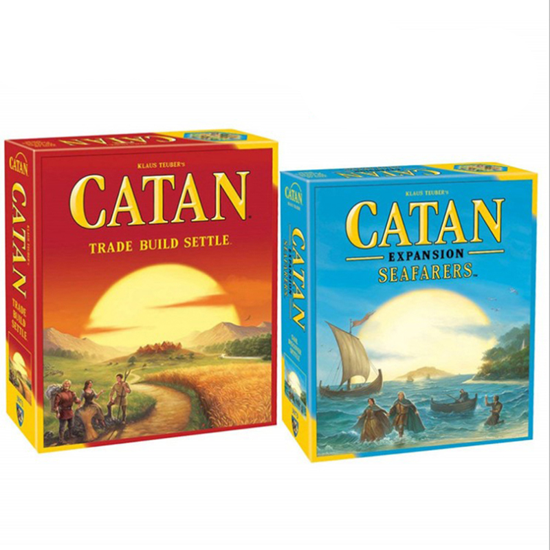 Catan 5th Edition / 5-6 Player Extension / Seafarers Expansion / Seafarers 5-6 Player / Chess Game Board Game Table Game Home