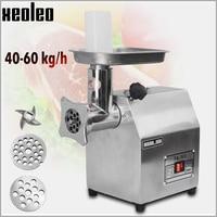 XEOLEO Commercial Meat Grinders Sausage Machine Enema machine Electric Mincer Stainless steel 40 60kg/h Grinder Sausage Stuffer