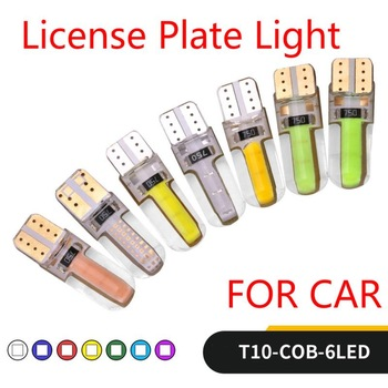 New Car T10 LED Lights Wedge Replacement Reverse Instrument Panel Lamp White Blue Bulbs For Clearance Lights For Peugeot 206 image