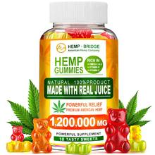 Minch Hemp Gummies CBD Gummies Rich In Vitamins B/E Relief Stress Help Sleep 10 Counts Sweet Gummy For Men And Women