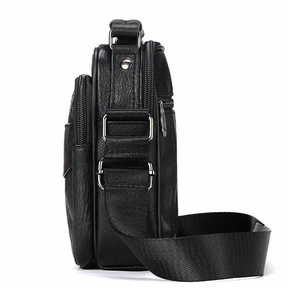 GZCZ мягкая кожаная мужская сумка на плечо женская сумка качественная натуральная кожа мужская сумка Повседневная мужская кожаная сумка