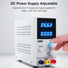 DC Power Supply Variable 30V 10A Adjustable High Precision Memory Function 4 Digits Voltage Regulators Power Stabilizers