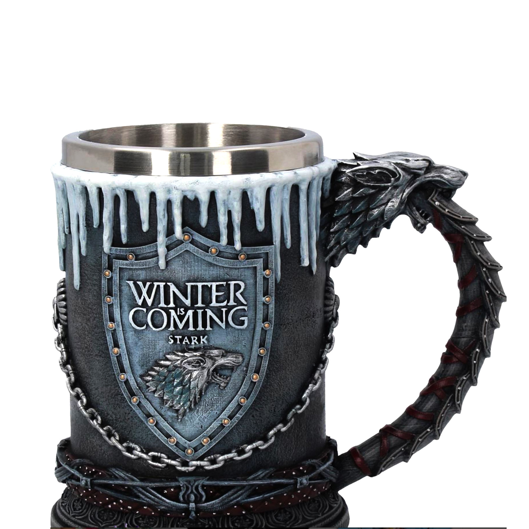 Export Europe And America Movie Game of Thrones of Game Glass Bar Creative 3D Carving Beer Steins Goblet|Sports Bottles| |  - title=