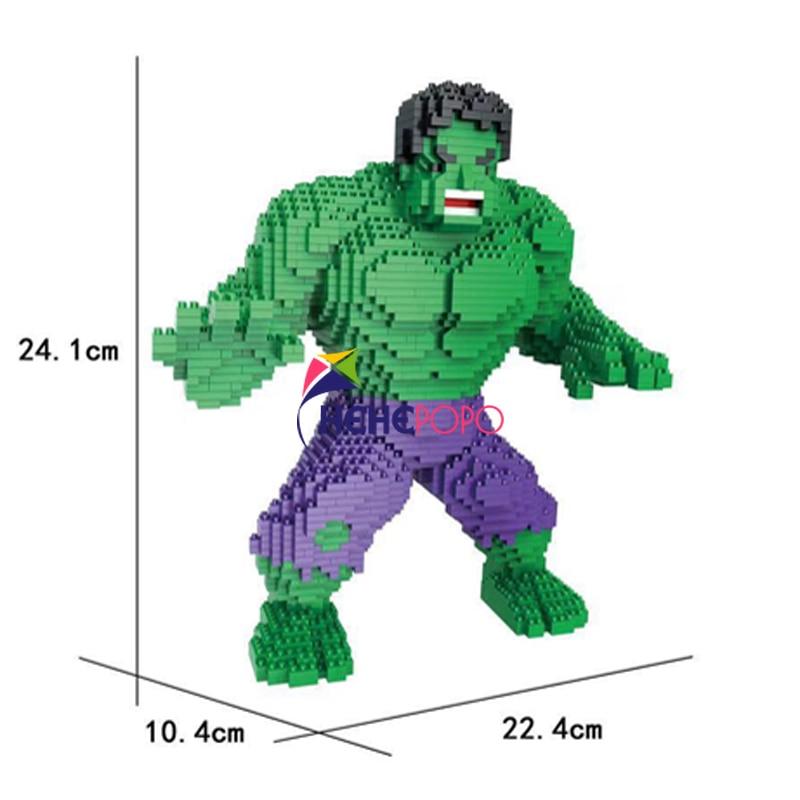 New Coming Super Hero Design Block with Cheap Price DIY Mini Mirco Diamond Building Blocks Bricks Toys Kids Gift 9