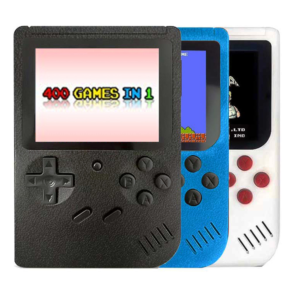 New Portable Mini Handheld Video Game Console 8-Bit Retro Game Players 3.0 Inch Color LCD Built-in 400 games for kids gift