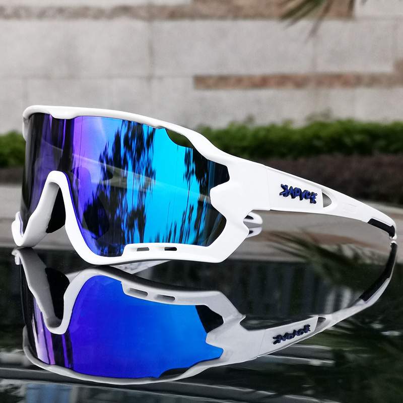 MTB Bike Eyewear Man Woman Cycling Sunglasses Uv400 Polarized Bicycle Glasses Sports Racing Riding Goggles ciclismo 1 Lens|Cycling Eyewear| |  - title=