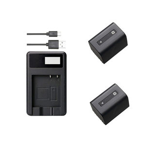 NP-FV70 NP FV70 NP-FV30 NP-FV40 FV50 FV100 Battery+Charger for Sony DCR-PJ5 AXP33 AXP35 AX30 SX20 SX21 SX33 SX34.