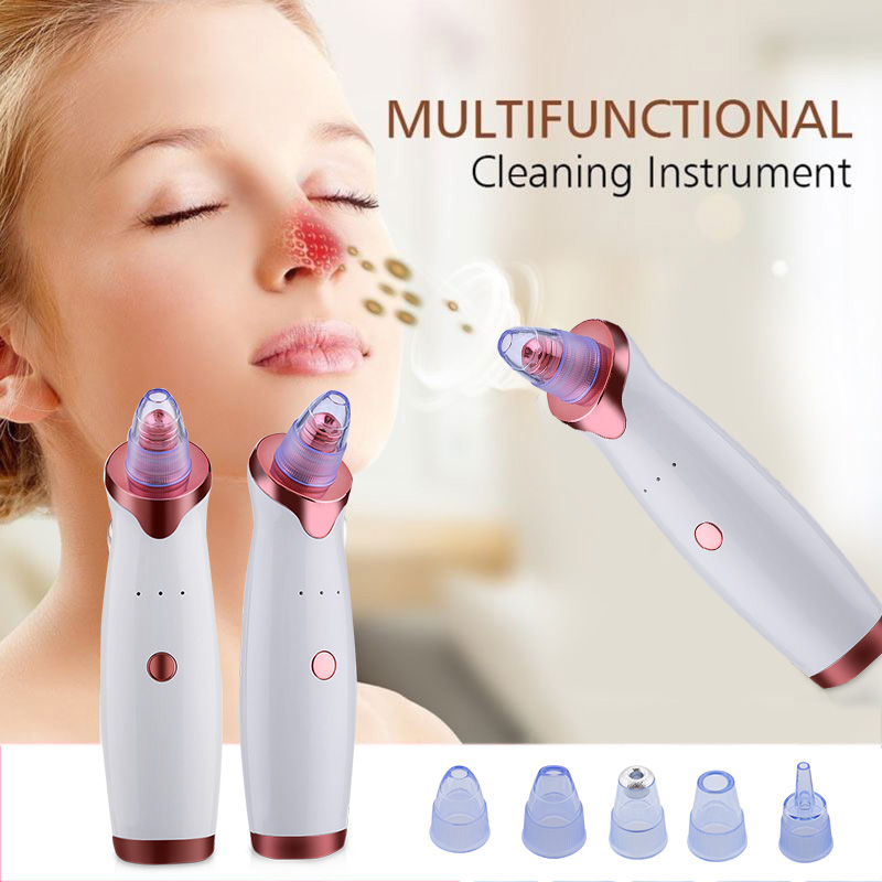 Electric Acne Remover Point Noir Blackhead Vacuum Extractor Tool Black Spots Pore Cleaner Skin Care Facial