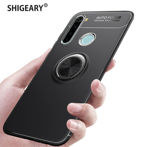 Coque for Xiaomi Redmi Note 8 Pro Case Phone Cover with Car Magnetic Finger Ring Holder Bracket for Xiomi Redmi Note 8T 8 T 7(China)