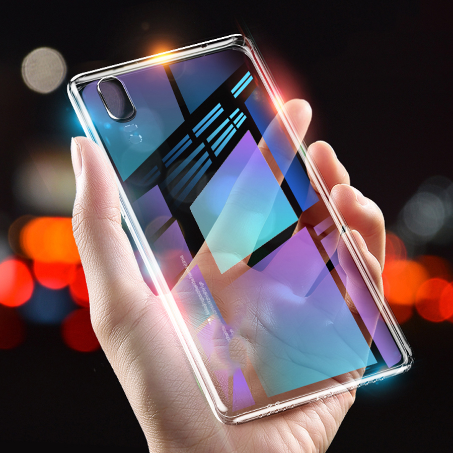 Clear Silicon Soft TPU Phone Cases For LG G7 K10 2018 K11 K8 Q Stylus+ Q7 Q8 V30 V30S V40 V50 X Power3 Transparent Case Cover