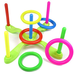 Toy-Cross Ring Throwing Fitness-Appliances Circle Parent Toss-Sports Educational The