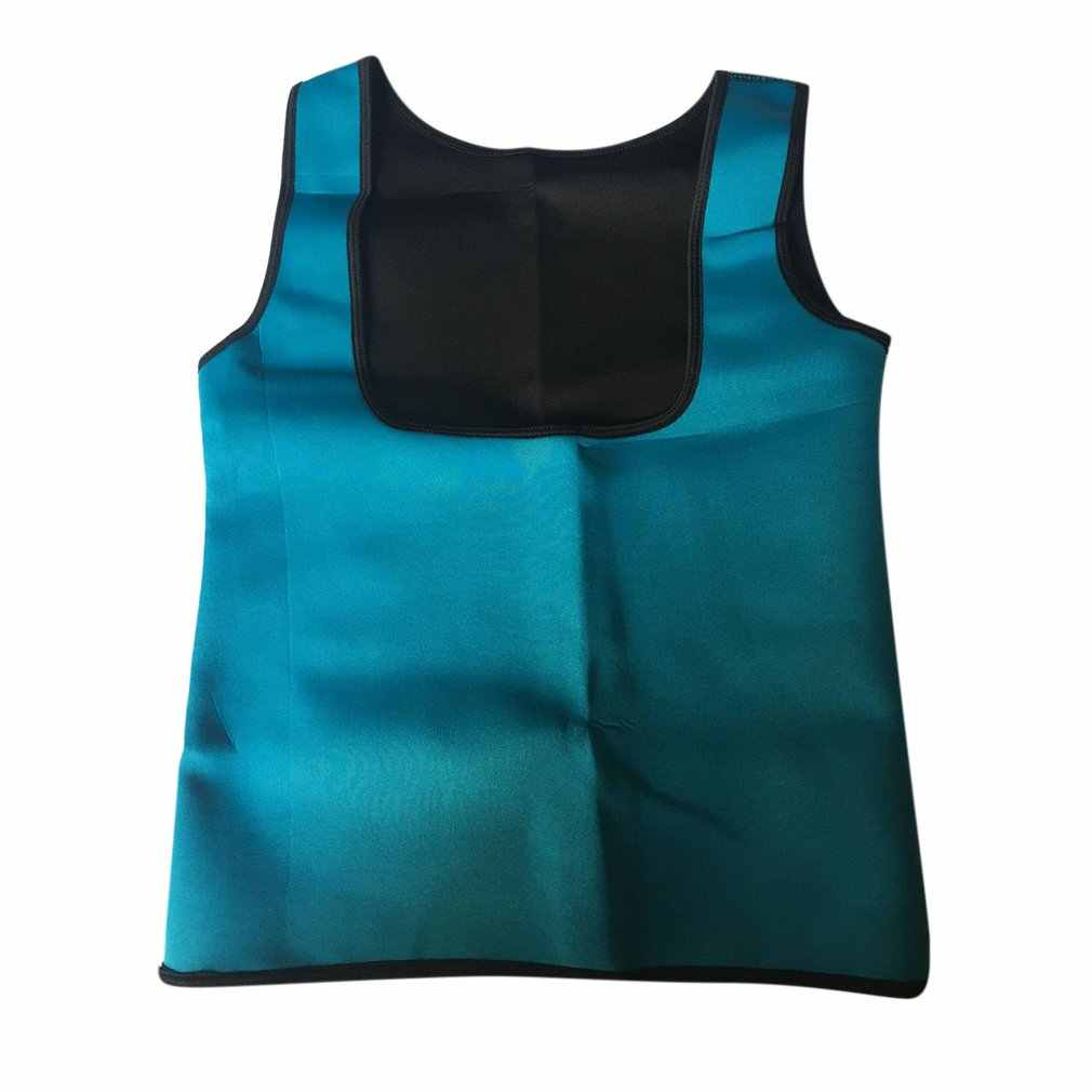 Женский утягивающий формирователь тела спортивный тренажер повязка для йоги рубашка для сауны коррекция фигуры корректирующая одежда фитнес жилет Топ