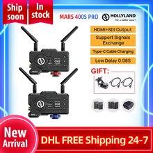 Holly MARS 400S PRO HDMI sdi Drahtlose Video Übertragung DATEIEN System HD Bild Sender Empfänger 1080P für Fotografie
