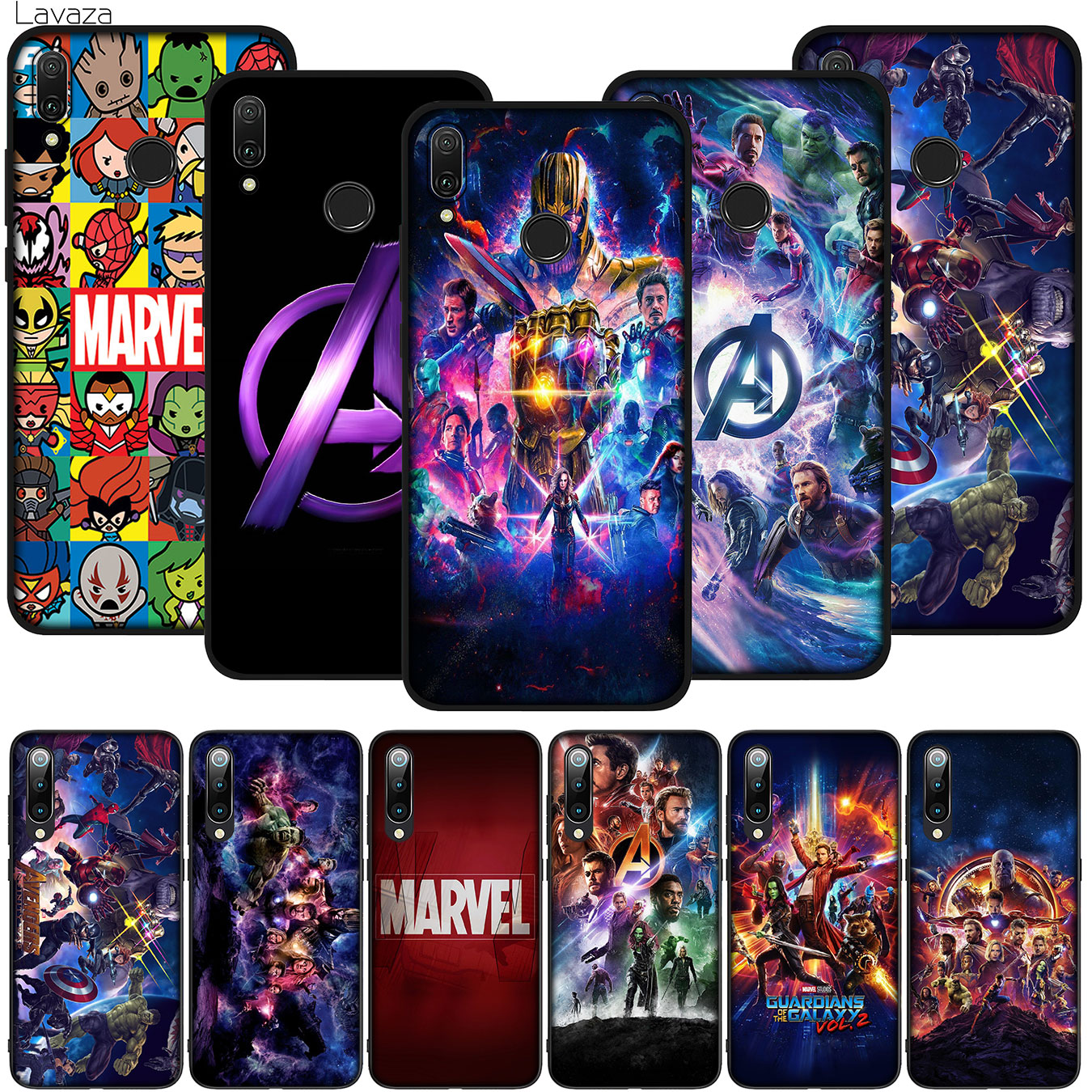 Avengers Endgame Superhero Captain America Soft Silicone Phone Case for Xiaomi Redmi Note 8 8A 7 7A 6 6A 5 5A S2 GO K30 K20 Pro image