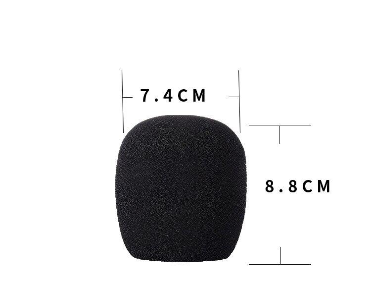 Para computador portátil preto usb condensador microfone