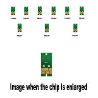 9pack T8041 9 For Epson Compatible ink cartridge disposable chip P6000