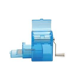 Ręczna szlifierka do ziół maszyna do cięcia tytoniu 150MM ręczna maszyna do cięcia tytoniu ze schowkiem szlifierka do ziół w Akcesoria do papierosów od Dom i ogród na