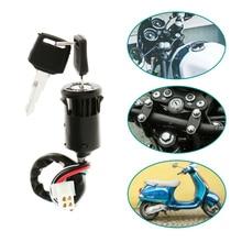 Motorcycle Ignition Switch Key For Universal 50/70/110/125/150/250cc Honda Yamaha Suzuki KTM Quad ATV Etc Accessories